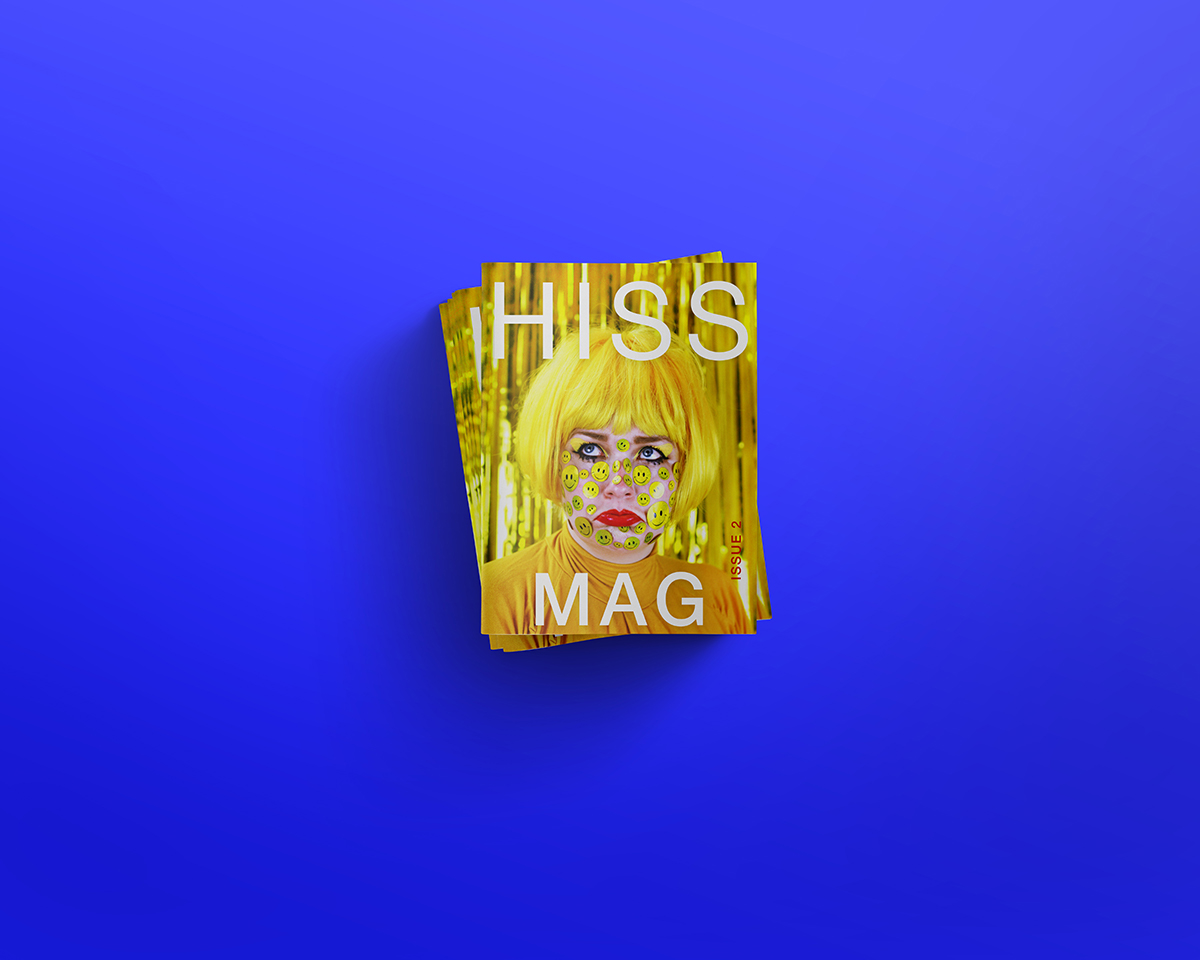 Cover of Hiss Mag issue 2