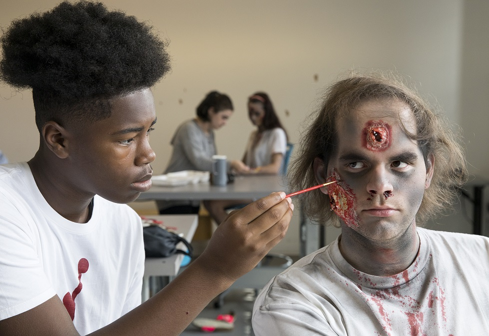 ccad to offer a summer special effects makeup class for