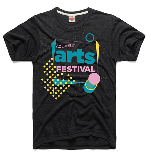 Alma Kim 2019 Columbus Arts Fest shirt