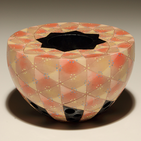 Earthenware bowl by CCAD Fine Arts Professor Kaname Takada