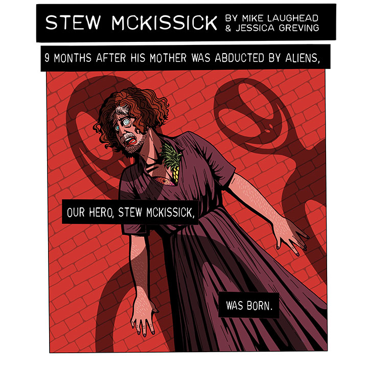 Stew McKissik Comic Part 1