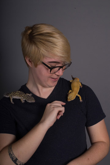 shae with lizards