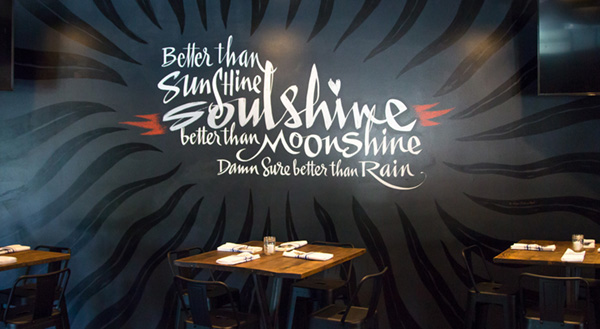 Advertising & Graphic Design, Audrey Stemen, Soulshine Mural and CCAD