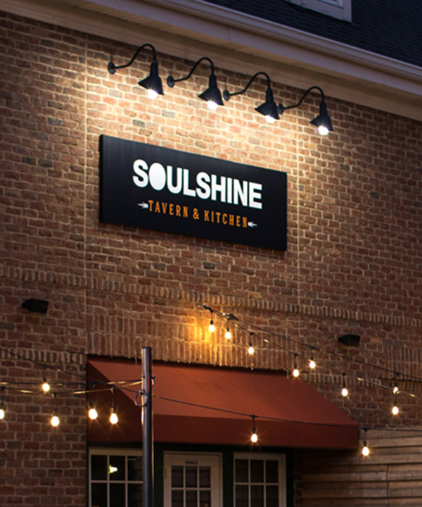 Advertising & Graphic Design, Soulshine Exterior and CCAD