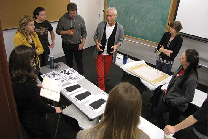 A rigorous Honors program broadens students' education at Columbus College of Art & Design (CCAD).