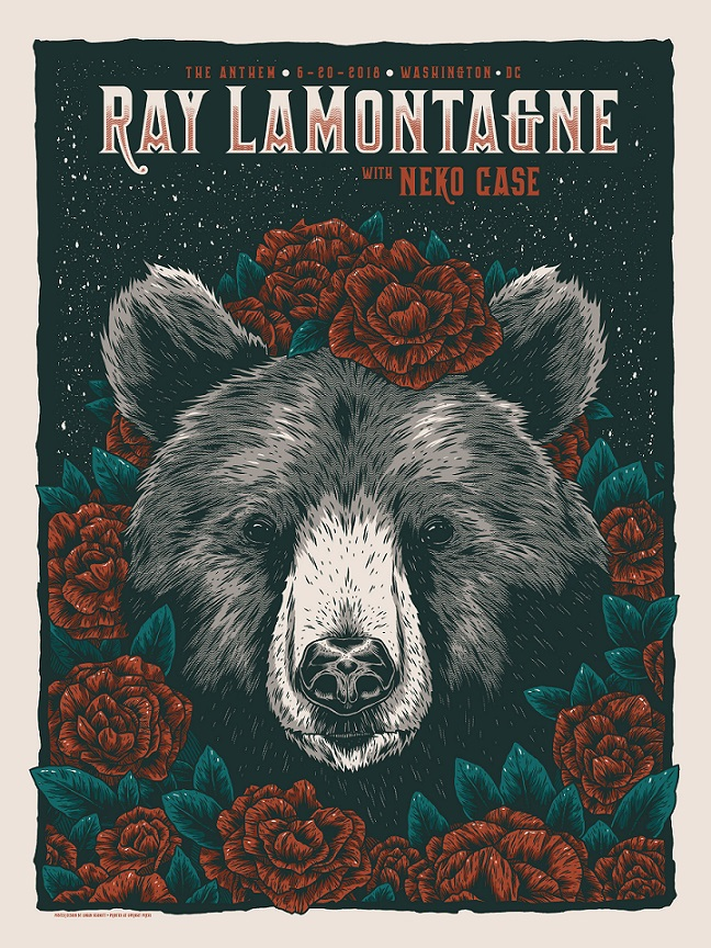 ray lamontagne poster