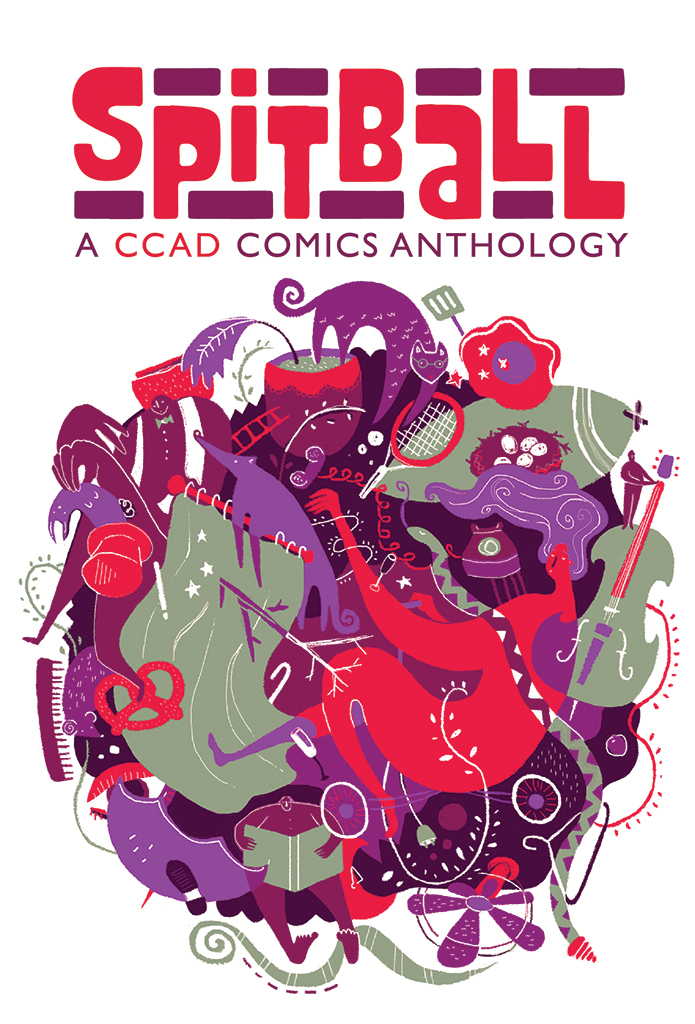 spitball comics anthology