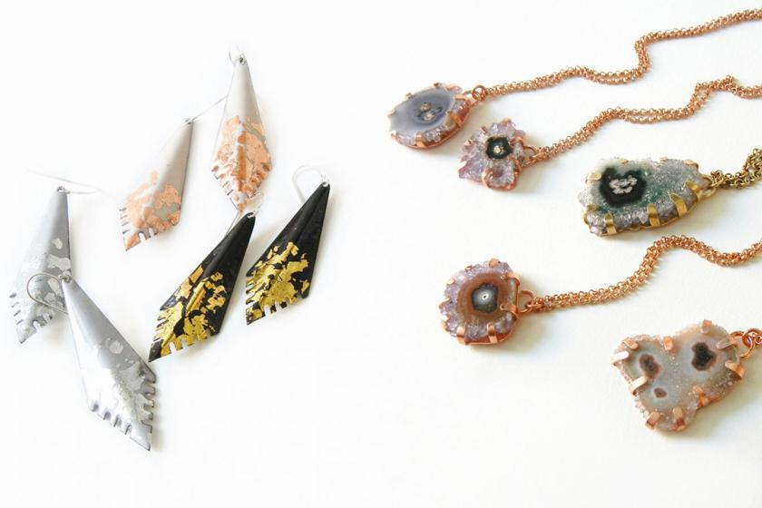 Phyllis & Hazel, Earrings & Necklaces Fashion Design Madeleine Etter