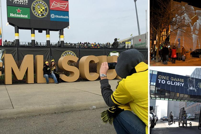 Experiential Marketing Campaign For MLS Cup In Columbus Advertising & Graphic Design Graham Fisher
