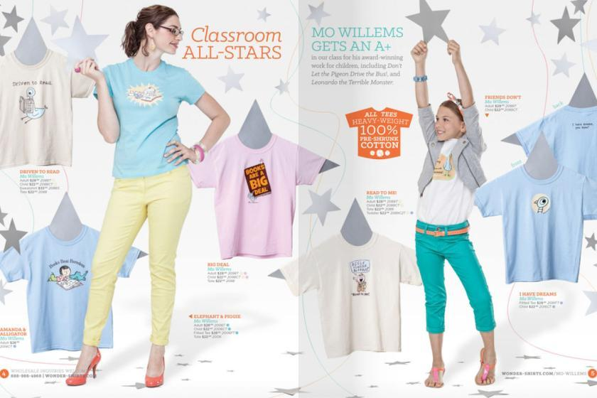Wondershirts Catalog Advertising & Graphic Design Lillie Templeton