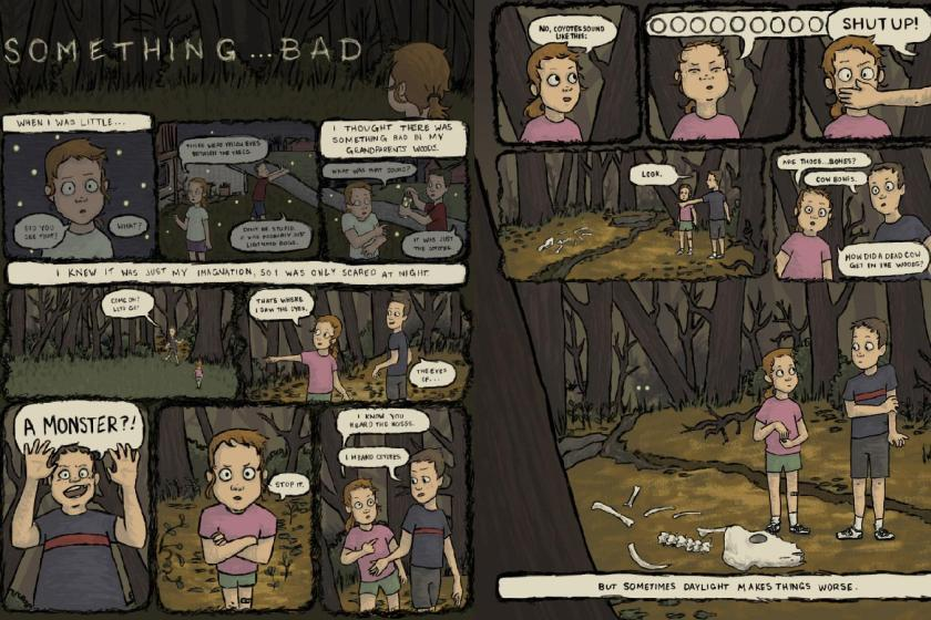 Something ... Bad Comics & Narrative Practice Darby Hepner