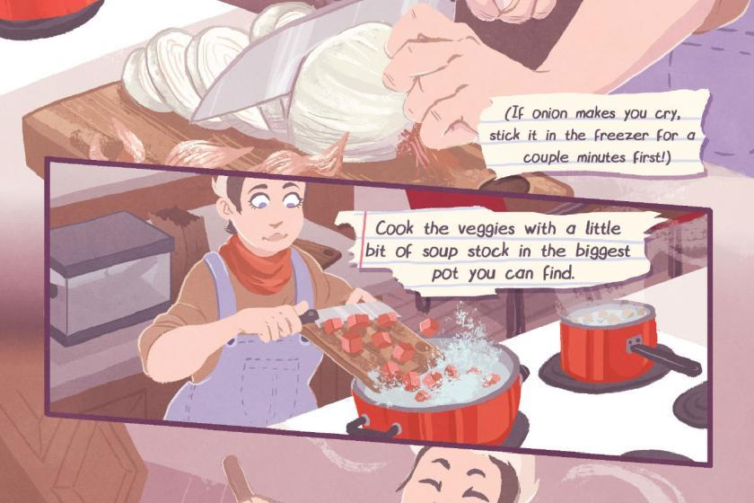 How To Make Chili For Your Lizard Girlfriend Comics & Narrative Practice Lauren Myers