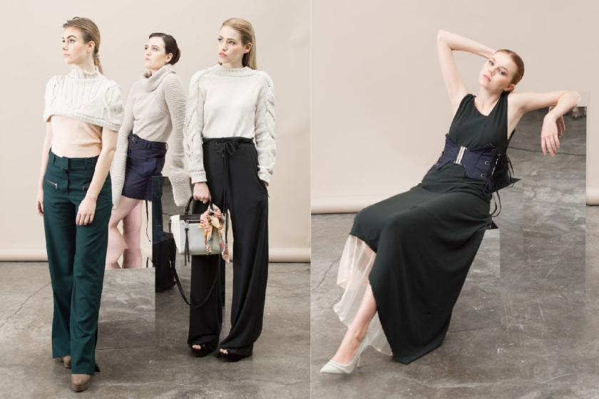 THESIS COLLECTION FASHION DESIGN Madeline Burgess
