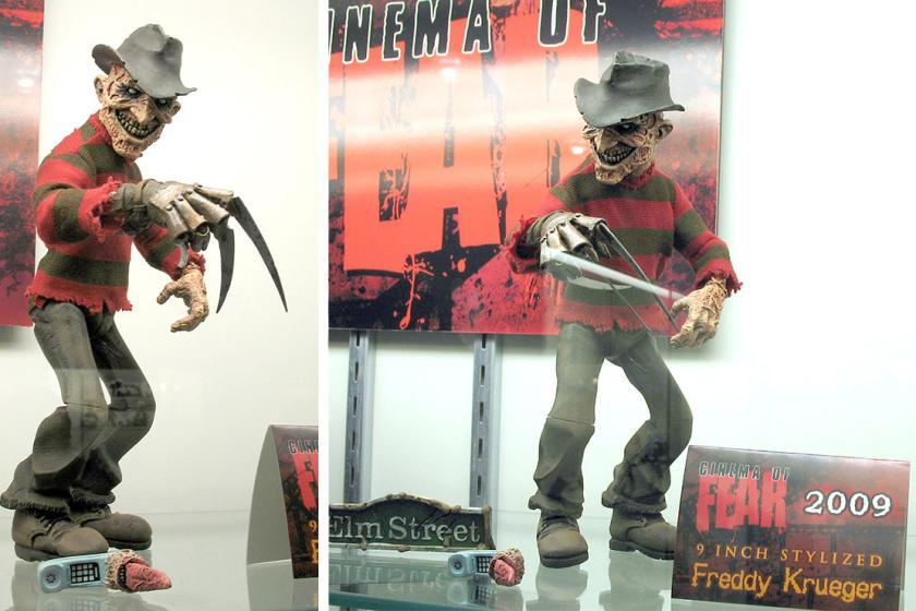 Freddy Krueger Figure Industrial Design Trevor Zammit