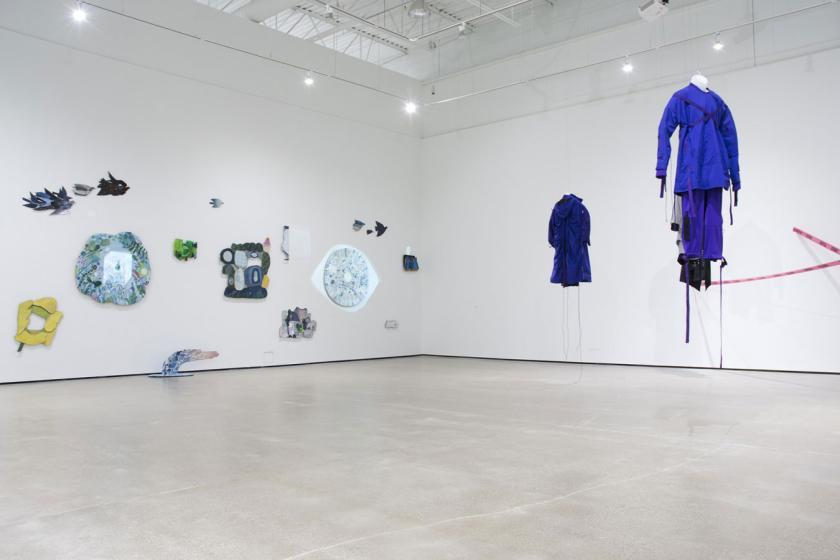 Thesis Show Installation View - 2017 MFA Visual Arts Yuan Hua & Mikayla Liang