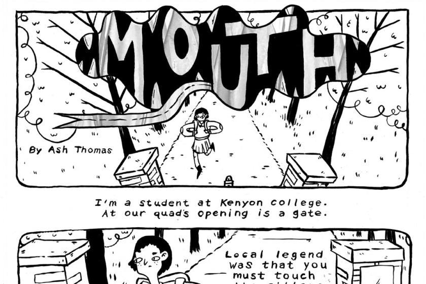 The Mouth Comics & Narrative Practice Ash Thomas
