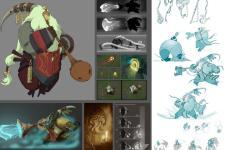 CONCEPT WORK FOR RIOT GAMES ANIMATION Chris Campbell