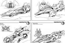 Fantastic 4 Vehicle Designs Industrial Design Brian Lawrence