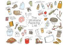 The Ultimate Packing List Illustration Mariana Floria