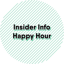 Insider happy hour